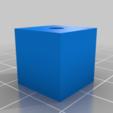Download free SCAD file Makergear M2 Z-screw reinforcement • 3D print template, rsheldiii