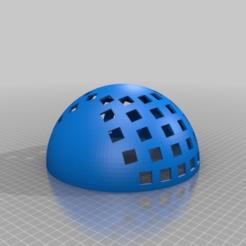 Crystal_Ball_Keyboard.png Download free SCAD file Crystal Ball Keyboard Concept • 3D printer design, rsheldiii