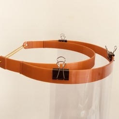 Télécharger fichier STL gratuit Visière de sécurité faciale v1 v2 v3 • Design pour imprimante 3D, Andrei369
