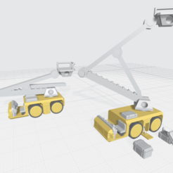 Mecha Bay Vehicles Free 1.png Download free OBJ file Mecha Hangar Bay Vehicles -Free- free 3D print model • Design to 3D print, ilovegmrgm79
