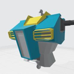 Gudam GM upper torso2.png Télécharger fichier OBJ Gundam ou GM Upper torso à l'échelle 1 à 100 • Plan à imprimer en 3D, ilovegmrgm79