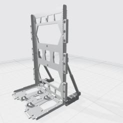 Télécharger fichier OBJ gratuit MHB04-H- Mecha Hangar Bay Hangar seulement Libre • Plan pour imprimante 3D, ilovegmrgm79