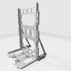 Download free OBJ file MHB04-H- Mecha Hangar Bay Hangar only Free • 3D printable template, ilovegmrgm79