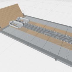 MHB03F- Mecha Hangar Bay 03 Fixture.png Download OBJ file -MHB03F- Mecha Hangar Bay 03 Launcher Fixture 3D print Files • 3D printing template, ilovegmrgm79