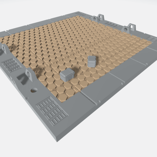 MHB02-B- Mecha Hangar Bay 02 Base3.png Download free OBJ file Mecha Hangar Bay Base -MHB02 B-only • 3D printable template, ilovegmrgm79