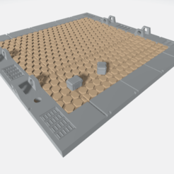 Download free 3D printing designs Mecha Hangar Bay Base -MHB02 B-only, ilovegmrgm79