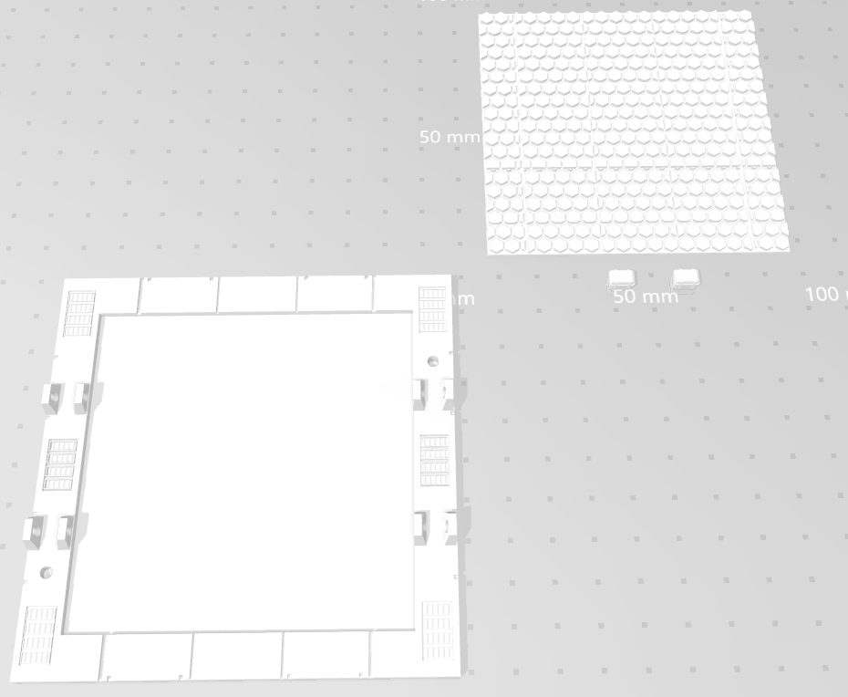 MHB02-B- Mecha Hangar Bay 02 Base5.png Download free OBJ file Mecha Hangar Bay Base -MHB02 B-only • 3D printable template, ilovegmrgm79