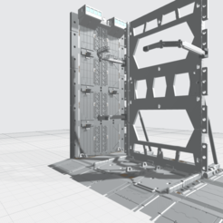 Final MHB04F-2- Mecha Hangar Bay 04 Fixture original01.png Download OBJ file -MHB04F2 - Mecha Hangar Bay 04 Hangar Fixture for MG 3D printing FILE • 3D printing object, ilovegmrgm79