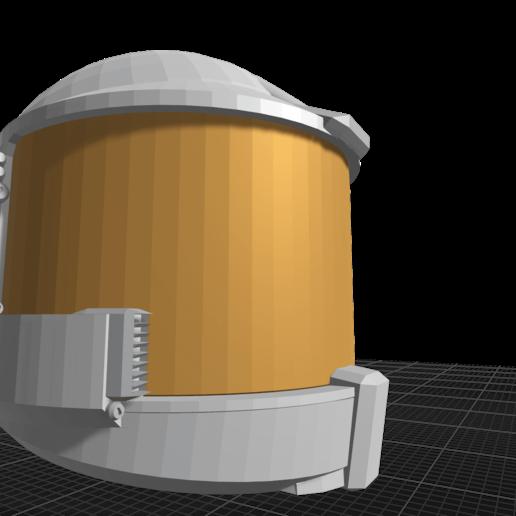 Download 3D-printbestanden Sci-fi Actiefiguur Helmet, ilovegmrgm79