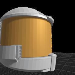 Download OBJ file Sci-fi Action figure Helmet • 3D print template, ilovegmrgm79