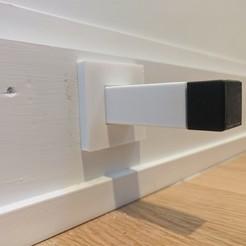doorstop-min.jpg Télécharger fichier STL Plinthe de design moderne Arrêt de porte • Plan imprimable en 3D, kryvanych2