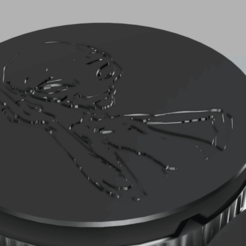 bottom v1.png Download STL file Weed Grinder by movie Paul ufo • Object to 3D print, afk620