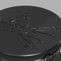 bottom v1.png Télécharger fichier STL Weed Grinder du film Paul ufo • Objet pour imprimante 3D, afk620