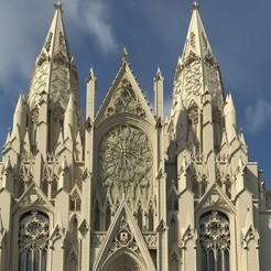 Download 3D model St Patrick`s cathedral, msemenovared
