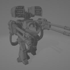 Download free STL file Derado Dreadnought for future hammer sci-fi • 3D printer template, kosorokos