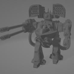 Descargar modelos 3D gratis MANOS DE HIERRO DERADO DREADNOUGHT PARA MARTILLO DE 40K, kosorokos