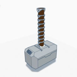 Screen Shot 2020-03-23 at 10.27.46 AM.png Download free STL file Thor's Hammer • 3D printer model, gceciliachen