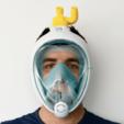 Télécharger fichier STL gratuit EASY COVID 19 - Masque d'urgence pour les ventilateurs d'hôpitaux • Modèle à imprimer en 3D, isinnova