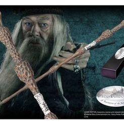 Download 3D printer designs Wands/Harry potter/ Elder, santicantero79