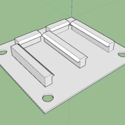 Croquis.png Télécharger fichier STL gratuit SUPPORT DE RELAIS ARDUINO • Plan pour impression 3D, Amesis_Project