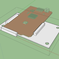 Croquis.png Télécharger fichier STL gratuit SUPPORT ARDUINO MEGA • Plan pour imprimante 3D, Amesis_Project
