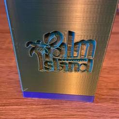 boite fermée.jpg Download STL file Palm island • 3D printer model, ShowineLK4