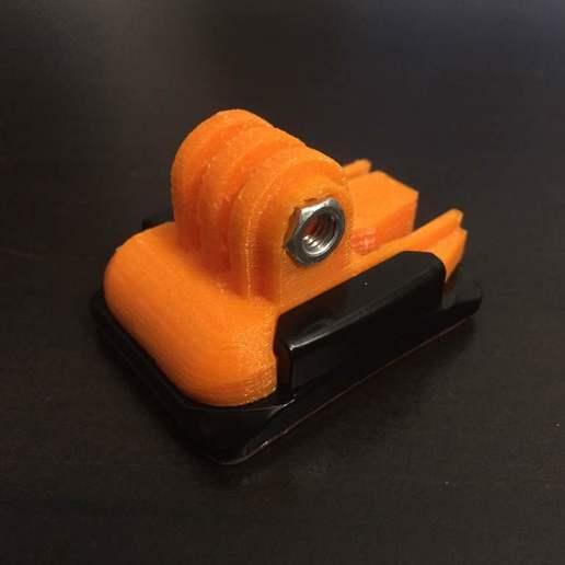 IMG_2476.JPG Télécharger fichier STL gratuit GoPro Snap Base • Design pour impression 3D, LilMikey