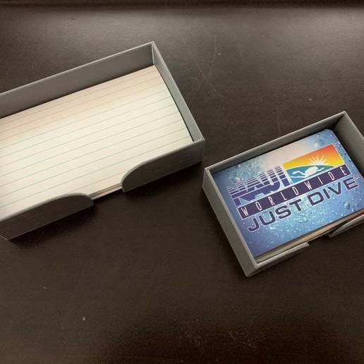 Télécharger fichier impression 3D gratuit Détenteurs de cartes d'affaires/indices, LilMikey