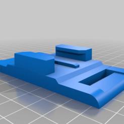 Impresiones 3D gratis La montura de la correa tensa GoPro, LilMikey