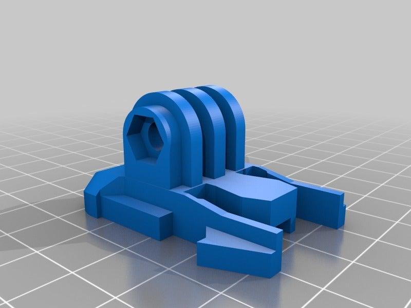 Go_Pro_Snap_Buckle.png Télécharger fichier STL gratuit GoPro Snap Base • Design pour impression 3D, LilMikey