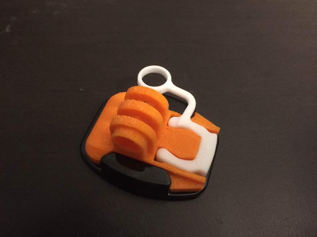 IMG_2478.JPG Télécharger fichier STL gratuit GoPro Snap Base • Design pour impression 3D, LilMikey