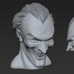 joker_01.jpg Download free STL file Joker • 3D printing design, u25