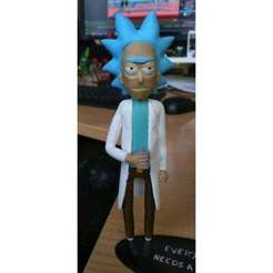 Download free STL file Rick Sanchez [Rick and Morty] • 3D print model, u25