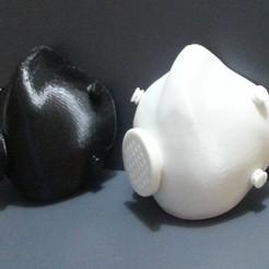1.jpg Download free STL file Functional Gas Mask V2 • Template to 3D print, makenostop