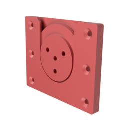 Download 3D print files Dartboard Wall Mount, waayne17