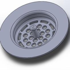 fregadero captura.PNG Télécharger fichier STL Filtre pour évier • Objet imprimable en 3D, javije15