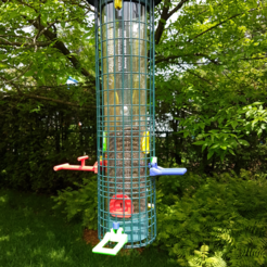 Download free 3D printing templates Squirrel Buster bird feeders upgrades, michelj