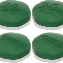 Download free 3D printer files Big Green Pill, michelj