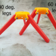 iPadSupport_Legs.png Download free STL file iPad Tripod Support for TikTok Kids • 3D printable template, michelj