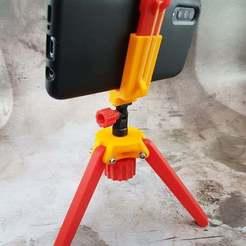 GalxaxyA50.jpg Télécharger fichier STL gratuit Accessoires pour trépied d'appareil photo pliable • Plan imprimable en 3D, michelj