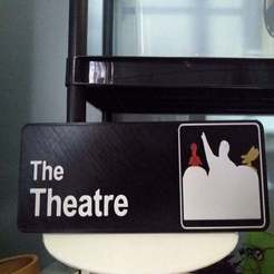 IMG_20200102_112326.jpg Download free STL file MST3K The Office sign for The Theatre MultiPrint • 3D print design, AgentPothead
