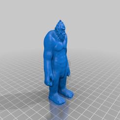 Télécharger fichier STL gratuit Ornement du Sasquatch • Objet imprimable en 3D, AgentPothead