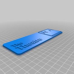 Télécharger fichier impression 3D gratuit MST3K L'enseigne du bureau pour le théâtre, AgentPothead
