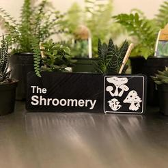 Download free 3D printing files The Shroomery office Remix, AgentPothead