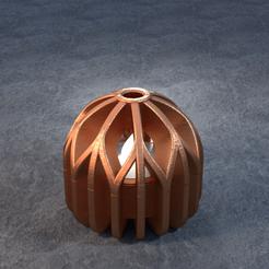 TeaC-18-Ball-Branch.png Télécharger fichier STL TeaC | Porte-bougie à thé | Branch Top (18) *Ball • Modèle imprimable en 3D, DaveMans