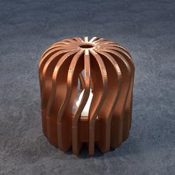 TeaC-18-Pill-Twist-Md.png Télécharger fichier STL TeaC | Porte-bougie à thé | Twist Top (18) *Md • Design pour imprimante 3D, DaveMans
