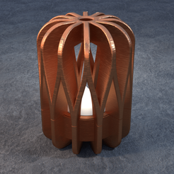 TeaC-12-Pill-Weave-Lg.png Download STL file TeaC | Tea Light Holder | Weave Top (12) *Lg • Design to 3D print, DaveMans