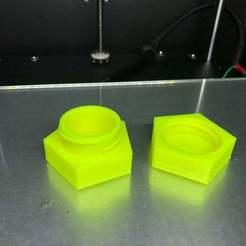 IMG_4839.jpg Download free STL file Pentagon Container Small • 3D printable design, Hegonauta3D
