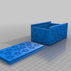 starbox.png Download free STL file Star container • 3D print design, Hegonauta3D