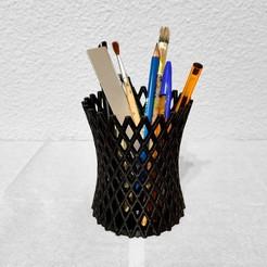 photosoped.jpg Download STL file Pen holder • 3D printer model, JabatDesign